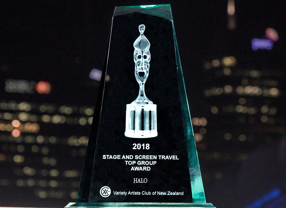 HALO Variety Artist Club of New Zealand - Stage and Screen Travel Award, Top Group 2018